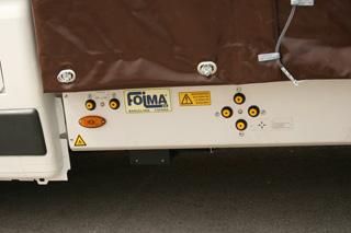 Un simple cuadro de mandos maneja la plataforma FPA.
