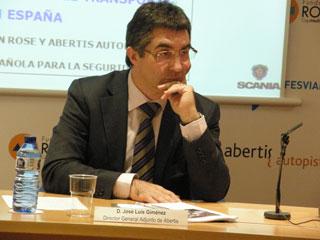 José Luís Giménez, director general adjunto de Abertis, patrocinadores del estudio.