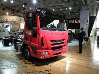 El Eurocargo en versión Híbrida diesel eléctrica da sus primeros pasos.