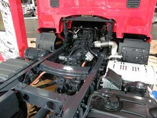 Tendremos que acostumbrarnos a ver motores eléctricos y baterías de litio en los camiones de distribución.
