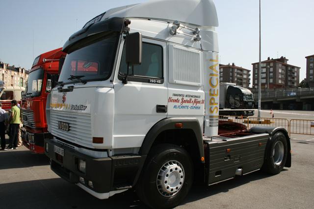 Con 480 CV este Iveco Trubostar fue uno de los reyes de la carretera a principios de los 90.