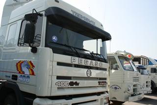 El Troner 400 TX es la culminación de los logros de Pegaso.