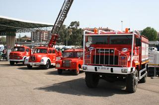 Los parques de bomberos son un tesoro para los aficionados a los camiones clásicos.