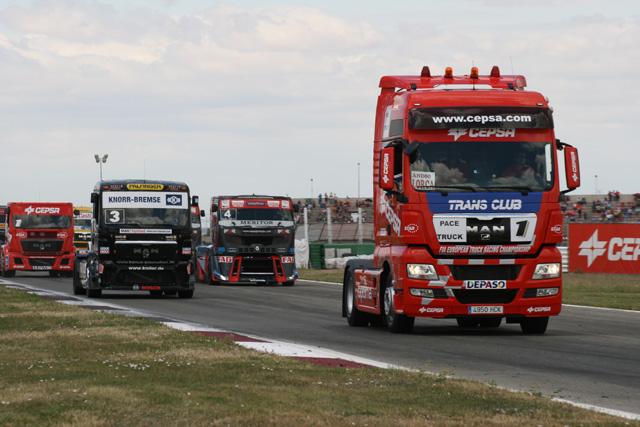 El Pace Truck de Cepsa da la salida lanzada en el GP de Albacete.