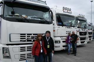 Desde Palencia algunos de los miembros de Doble Embrague.