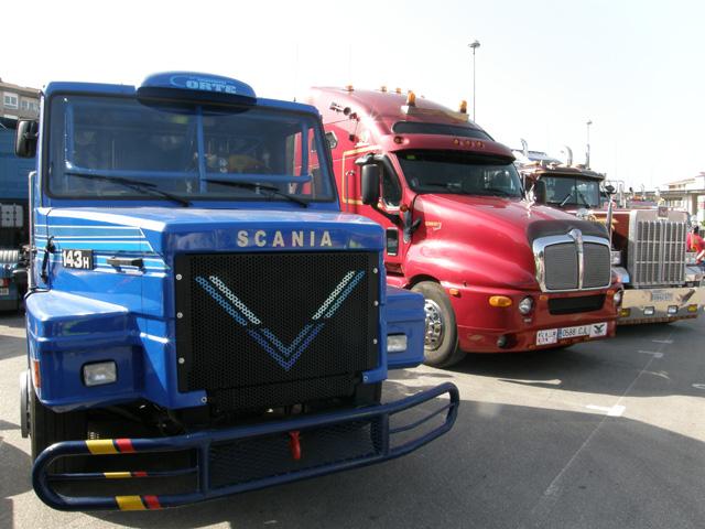 El Scania de competición de Corte es una vieja gloria del campeonato europeo de carreras de camiones.