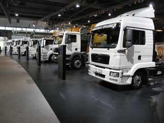 Actualmente la gama de camiones MAN cubre desde las necesidades de la distribución ligera al transporte más pesado.