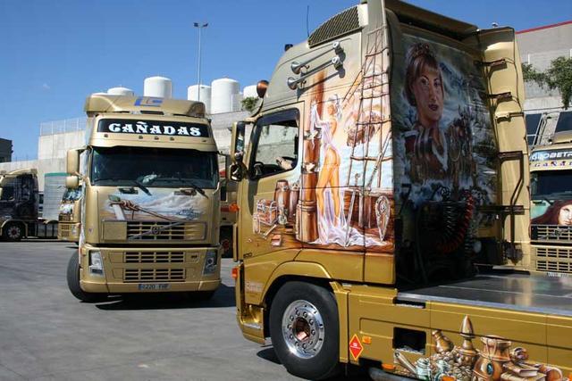 Las tractoras de la serie FH de Volvo son mayoría en Cañadas.