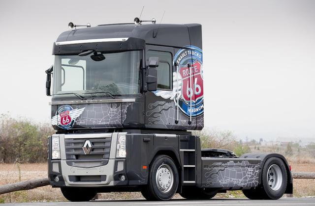 REnault Trucks ofrece el Magnum Ruta 66 con potencias de 440, 480 y 520 CV.