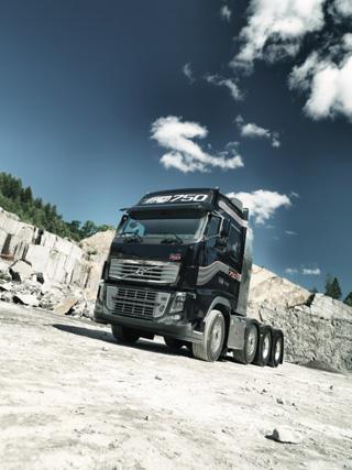 Volvo Trucks anuncia para su FH16 de 750 CV los mismos consumos que en la anterior versión 700 CV.
