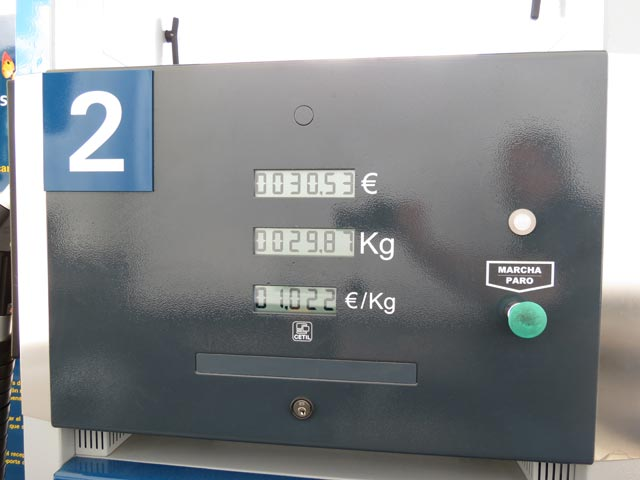 Krym la gasolina el precio en grn