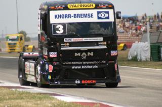Jochen Hahn llegaba a Albacete como líder provisional del campeonato.