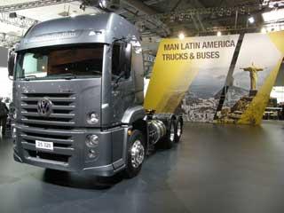 Los VW Constellation, ahora pertenecientes a MAN, se comercializan en latino-américa.