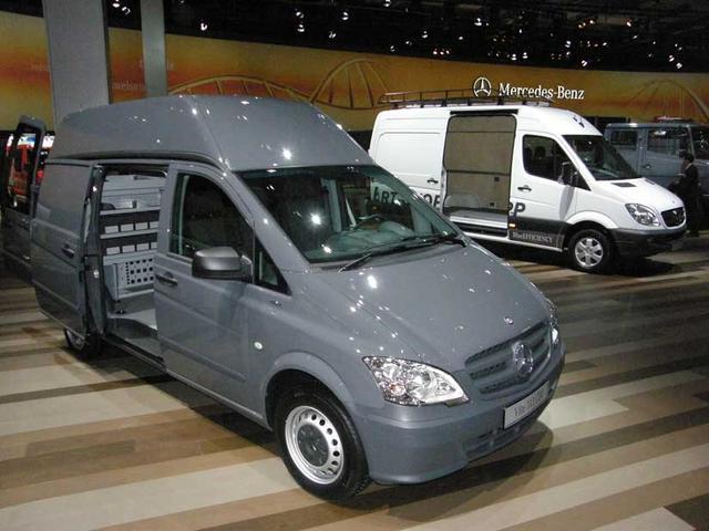 Con las gamas Viano y Sprinter Mercedes Benz cubre a la perfección las necesidades del sector más ligero.