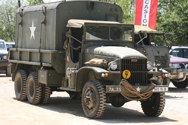 El camión GMC 6X6 cargaba 2,5 toneladas y alcanzaba los 70 km/h.