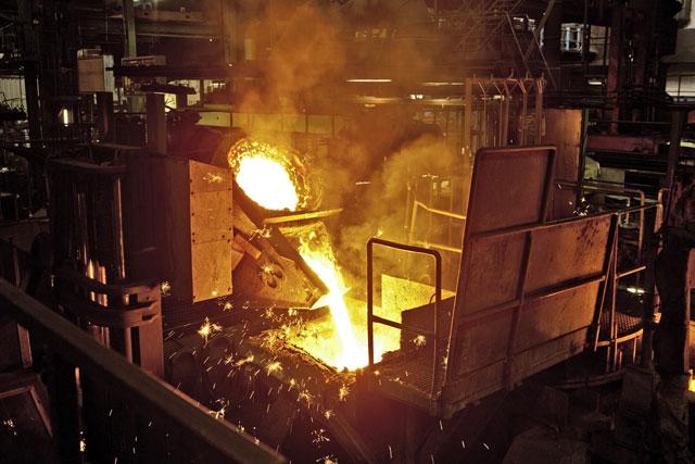 La planta de Manheim cuenta con fundición propia para sus motores.