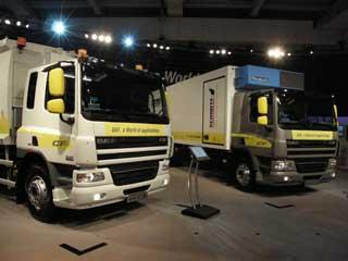 La serie CF de DAF se adapta a la distribución pesada o los servicios de recogida residuos.