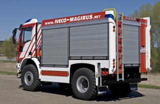 Las carrocerías se realizan en aluminio para disminuir la tara total del vehículo.
