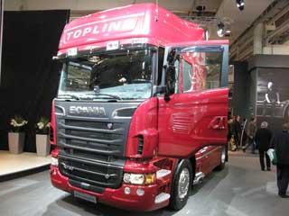 La versión V8 de 730 CV del Scania Serie R es la tractora más potente de nuestro mercado.