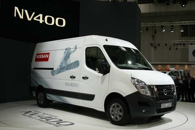 El nuevo NV400 es la furgoneta de Nissan para el segmento de las 3,5 toneladas.