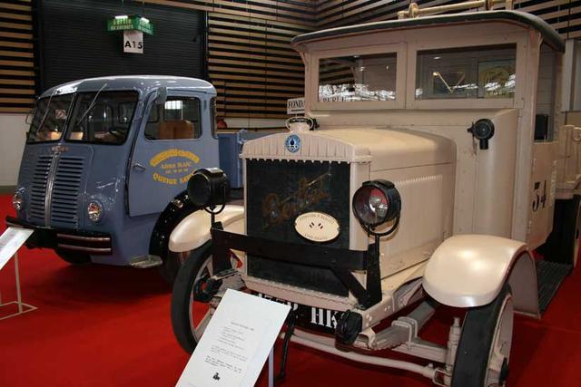 El CBA fue el camión Berliet llamado a filas durante la Primera Guerra Mundial.