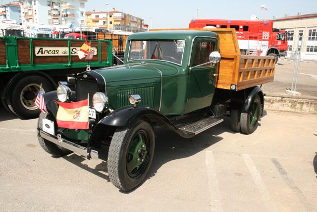 Ford fabricó camiones en nuestro país, primero en Cádiz y posteriormente en Barcelona.