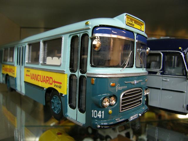 El inicio de Modeltrans se basó en los buses clásicos de la España de los 50 y 60, como este bus de la flota de Barcelona.