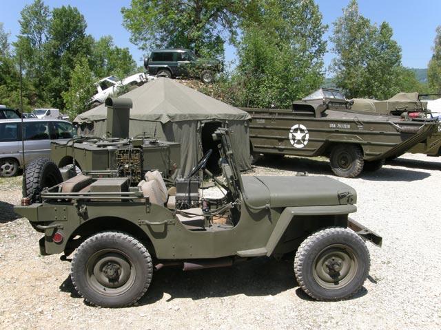 El famoso Jeep Willys nacía para motorizar a las tropas del Tío SAM.