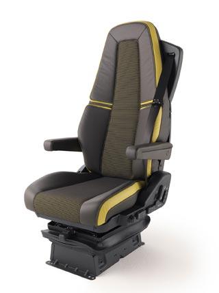 Los asientos del nuevo Volvo FH.