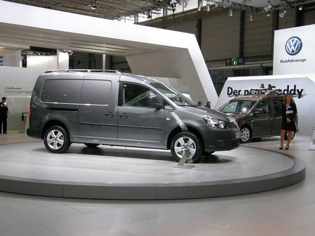 El nuevo Caddy de Volkswagen en el IAA.