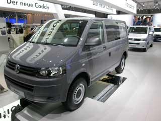 El Rockton es la versión todoterreno de las eficaces furgonetas Transporter de VW.