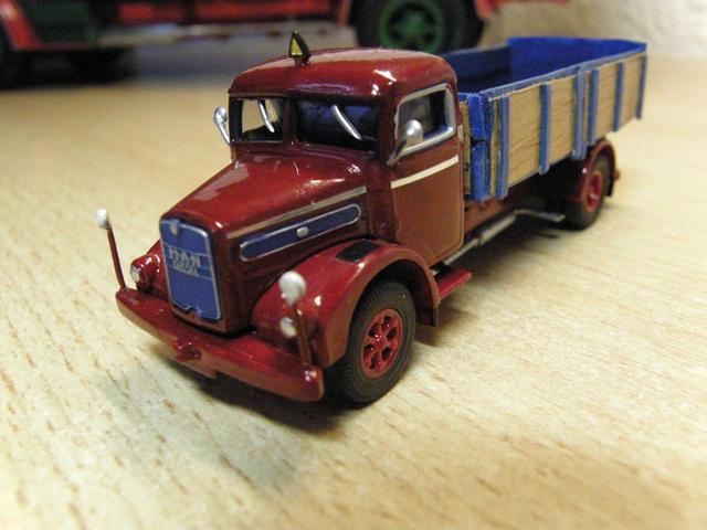 ESte camión MAN de los años 50 reproduce exactamente el que condujo el padre de nuestro protagonista.
