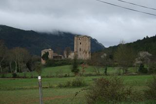 En la vertiente gala de los Pirineos abundan los castillos medievales.