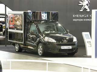 El Peugeot Partner en el IAA.