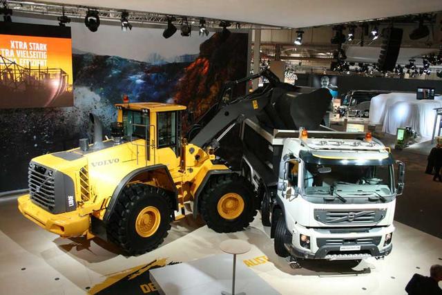 El Volvo FMX es el nuevo modelo de la marca sueca especializado en el uso en la construcción.