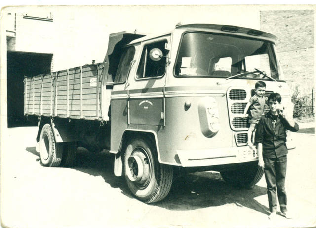 Los Nazar fueron unos camiones de fabricación española con diseño bastante avanzado en su época.
