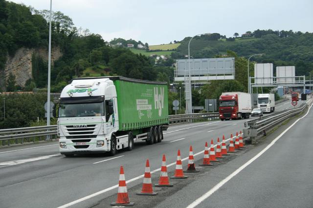 Durante el período estudiado los accidentes con camiones implicados han disminuido sensiblemente.