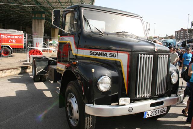 La serie 50 de camiones ligeros Scania se mantuvo hasta los años 70 en el mercado, pero sin presencia en España.