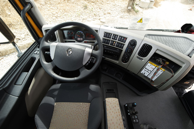 Gama premium lander for Renault gamme t interieur