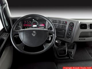 El puesto de conducción de los Premium Lander.
