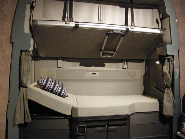 Zona dormitorio del nuevo Volvo FH Globetrotter.