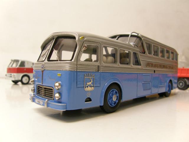 En 1950 nacía el espectacular autocar Pegaso interurbano de lujo Z-403.