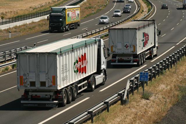 Cotraman mueve sus camiones principalmente por España y Francia.