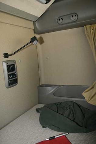 Las camas se benefician de un colchón de gran grosor.