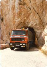 Dodge de 38 toneladas en los 80.