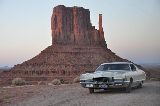 El Monumental Valley en Arizona es uno de los puntos emblemáticos junto a la Ruta 66.