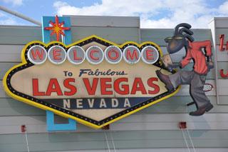 Las Vegas es un punto emblemático de la Ruta 66.