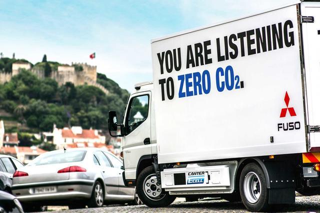 El nuevo Canter E-Cell reduce notablemente el ruido y al cero las emisiones
