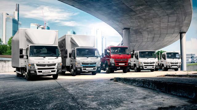 Fuso Canter cuenta con una amplia gama de vehículos ligeros