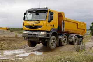 El Kerax es el Renault para terrenos difíciles.